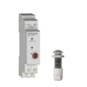 Analoger Dämmerungsschalter turnus 501 E mit Einbau-Lichtsensor