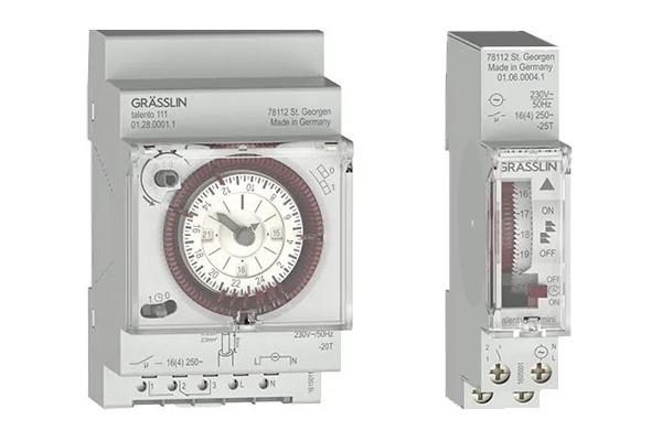 Neue mechanische Zeitschaltuhren 3 TE und 1 TE