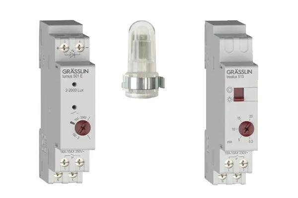 Neuer Treppenlichtschalter trealux 510 / Neue Sensoren turnus 501 E & A